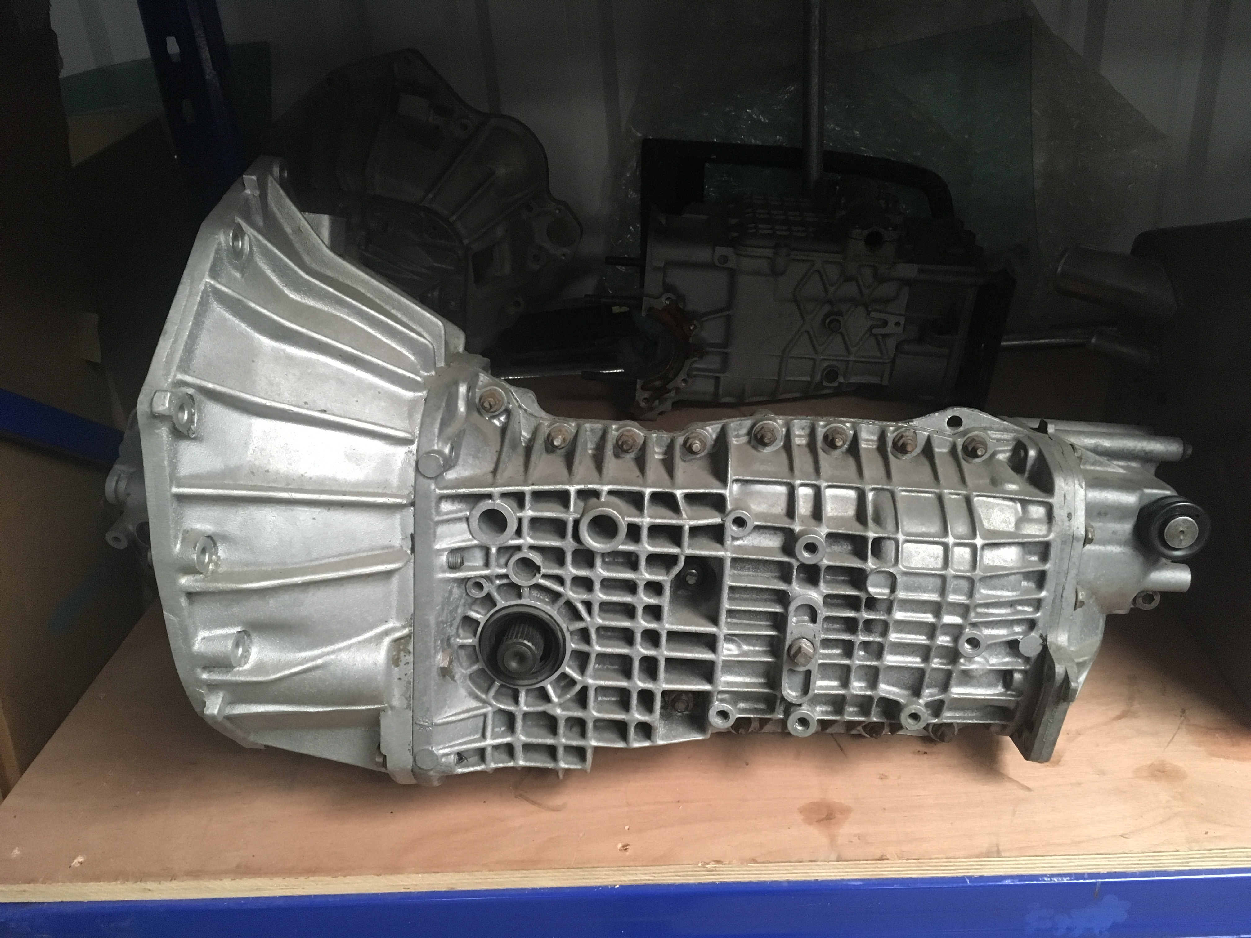 Lotus Esprit Renault UN1 Gearbox finished and ready for stock at Esprit Engineering - Gearbox Rebuilding Service - V8 S4S S4 SE X180